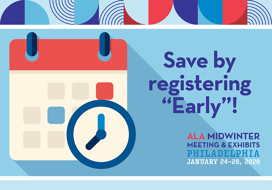 "Save when you register ""Early""!"